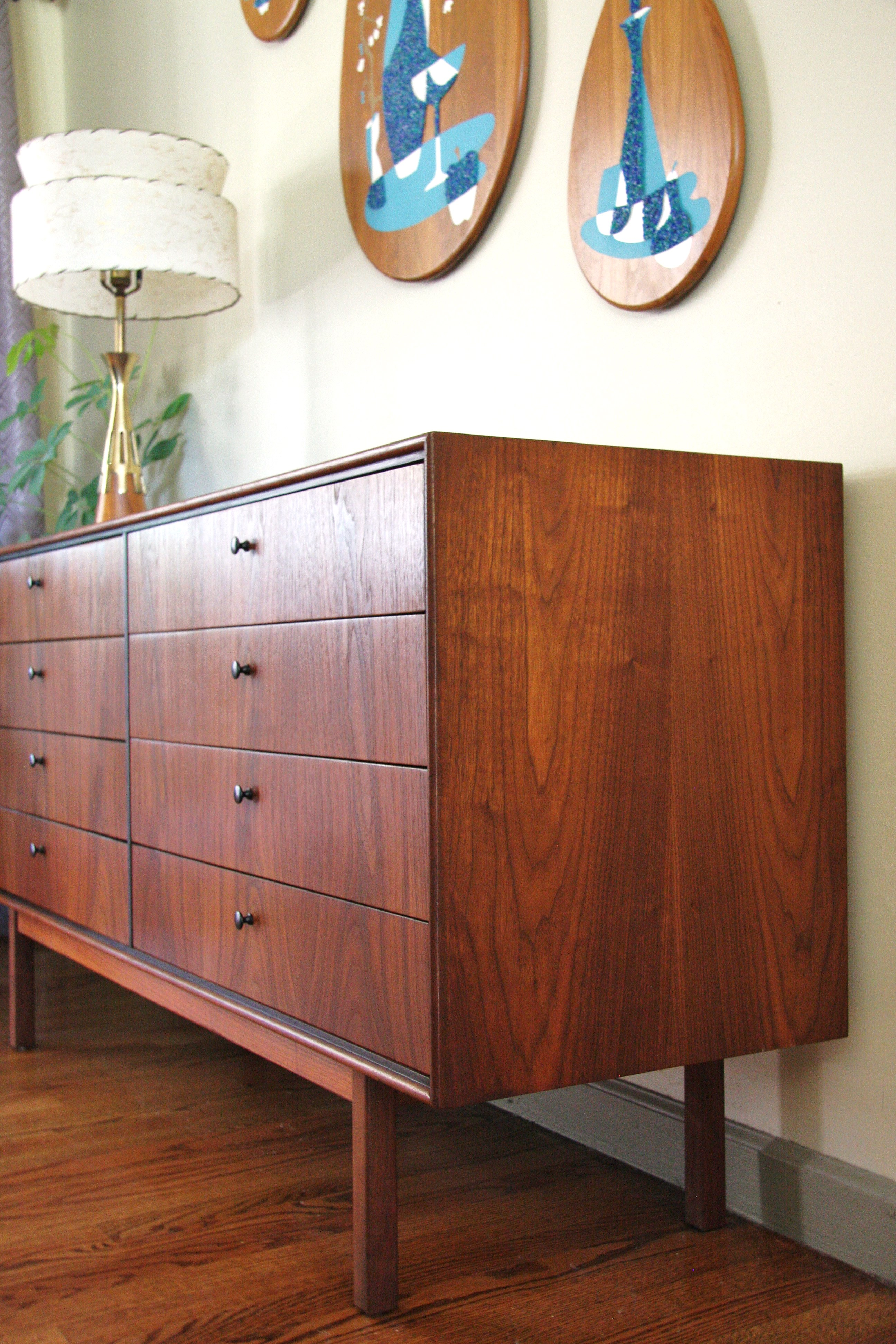 Rare Double Dresser by Jack Cartwright for Founders_8