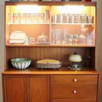 Drexel Declaration China Cabinet Designed by Stewart MacDougall and Kipp Stewart_8
