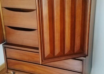 American Made Mid Century Gentleman's Chest Armoire_1