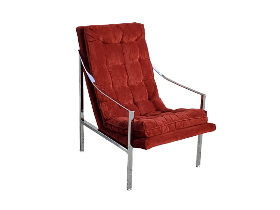 Iconic Lounge Chair by Milo Baughman for Thayer Coggin