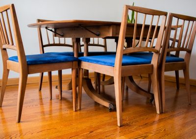 Mid Century Dining Table with 6 Chairs By Gordon's Furniture_18