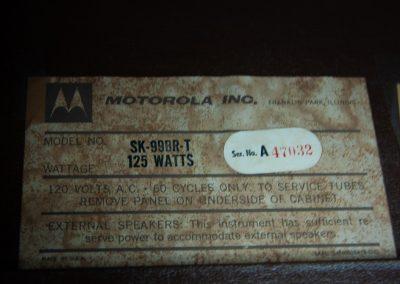 Mid Century Modern Motorola Hi-Fi Stereo Console Coffee Table_15