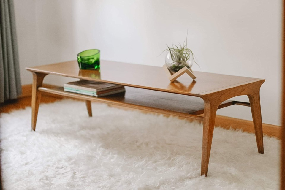SOLD ~ Vintage Mid Century DREXEL Profile Coffee Table