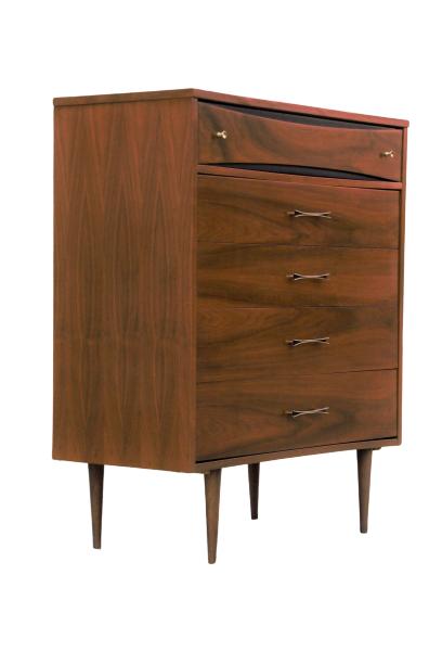 SOLD Vintage Mid Century Modern Dresser / Tallboy