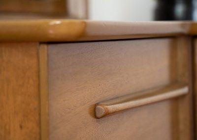 United Furniture Co. Mid Century Triple Dresser and Mirror_5