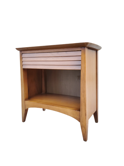 Mid-Century Modern Nightstand By Harmony House