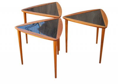 Triangular MCM Nesting Tables Designed by Arthur Umanoff_1