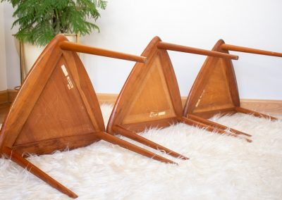 Triangular MCM Nesting Tables Designed by Arthur Umanoff_10
