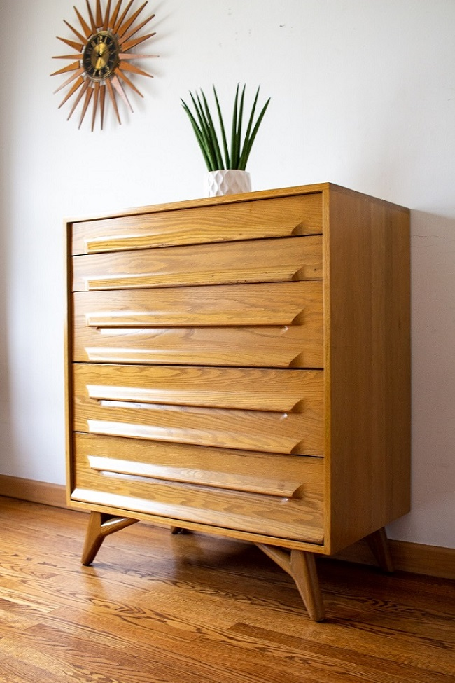 Iconic Mid Century Jack Van der Molen Dresser For Jamestown Lounge