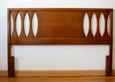 Mid Century Modern Sculpted Headboard by United Furniture Co._2