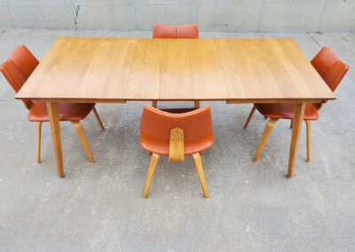 Mid Century Thonet Dining Chairs and Table_Iconic Mid Mod Decor_3