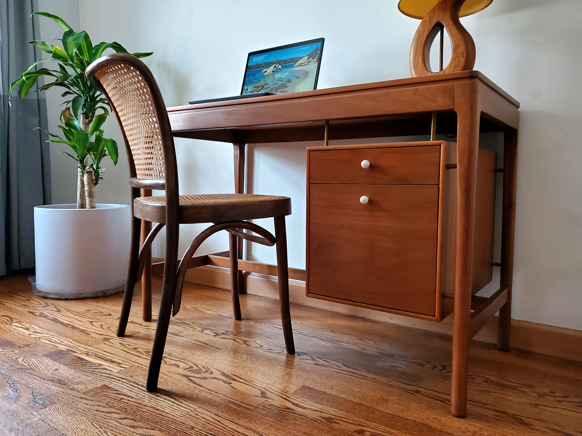 Mid Century Desk For Drexel Declaration by Kipp Stewart