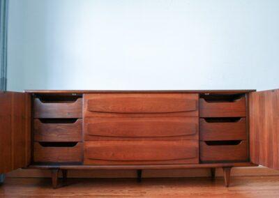 Mid Century American Of Martinsville Dresser 3
