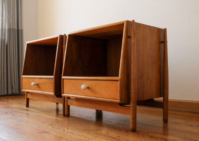 Mid Century Drexel Declaration Night Stand For Sale by Iconic Mid Mod Decor_1