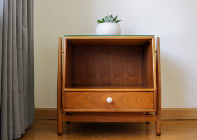 Mid Century Drexel Declaration Night Stand For Sale by Iconic Mid Mod Decor_10
