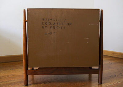Mid Century Drexel Declaration Night Stand For Sale by Iconic Mid Mod Decor_2