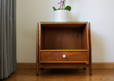 Mid Century Drexel Declaration Night Stand For Sale by Iconic Mid Mod Decor_C